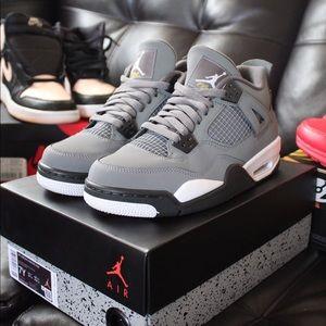 Air Jordan Cool Grey 4s
